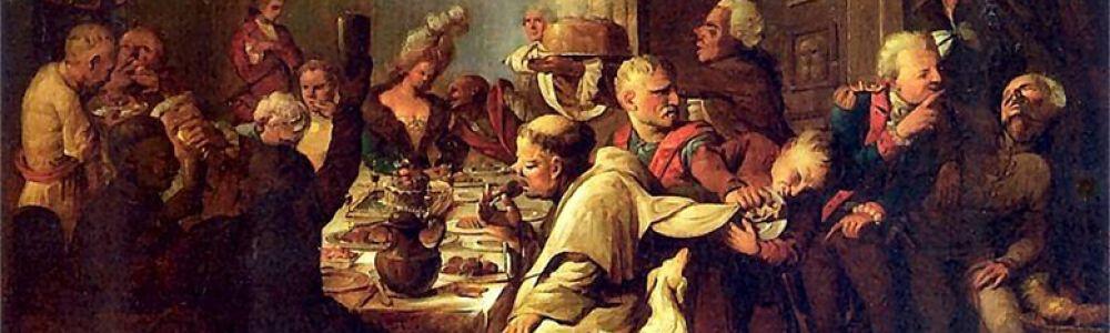 Senojo Vilniaus miestiečių šventės ir puotavimo ypatumai