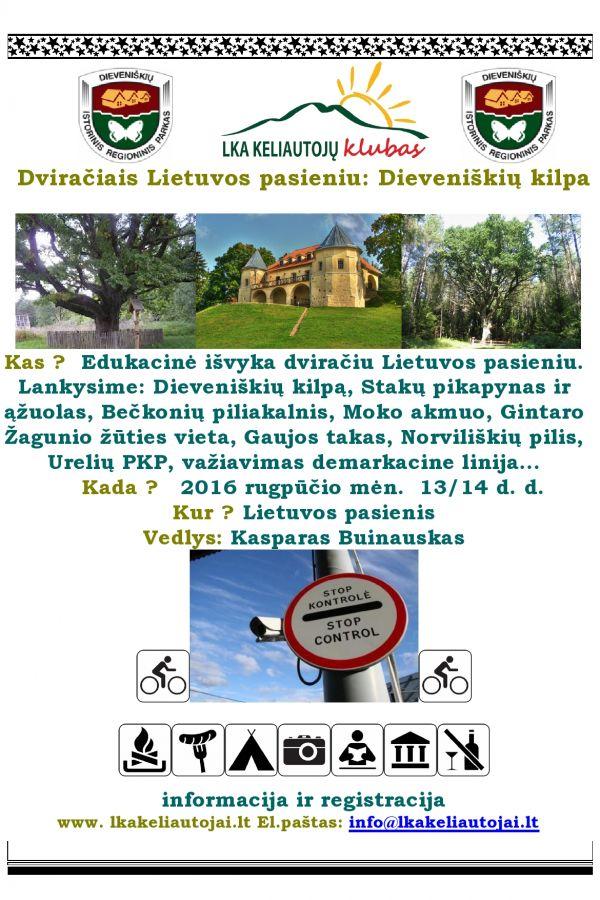 Dviračiais Lietuvos pasieniu II
