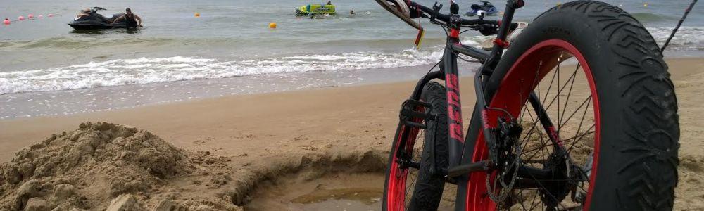 Pagauk jūros vėją su Fat Bike