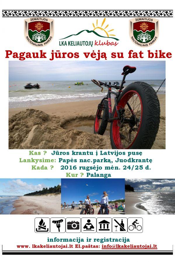 Mission Reloadead: Pagauk jūros vėją su Fat Bike