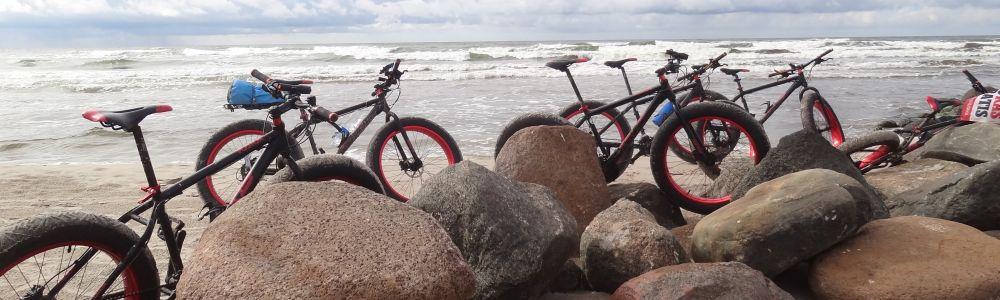 Pasitik jūros vėją su Fat Bike