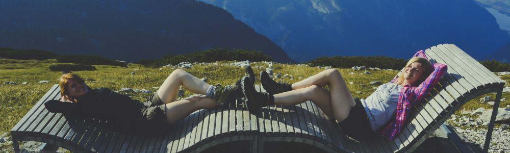 Mes - Aistė ir Simona:hitchhiking