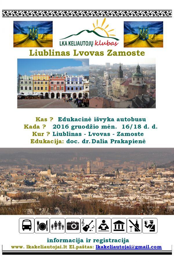 Liublinas Lvovas Zamoste