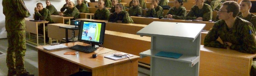 Apsilankymas Gen. J. Žemaičio Lietuvos karo akademijoje
