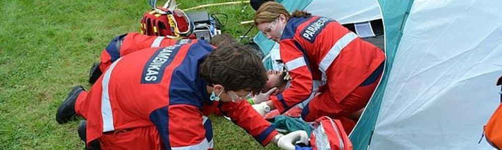 Pirmos pagalbos suteikimo kursas keliautojams ir ne tik