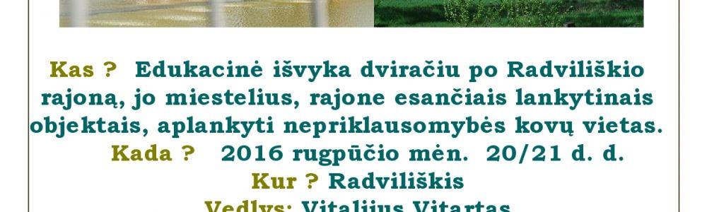 Radviliškio rajonas: praeitis ir dabartis