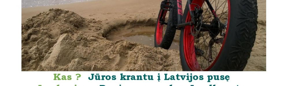 Mission Reloadead: Pagauk jūros vėją su Fat Bike