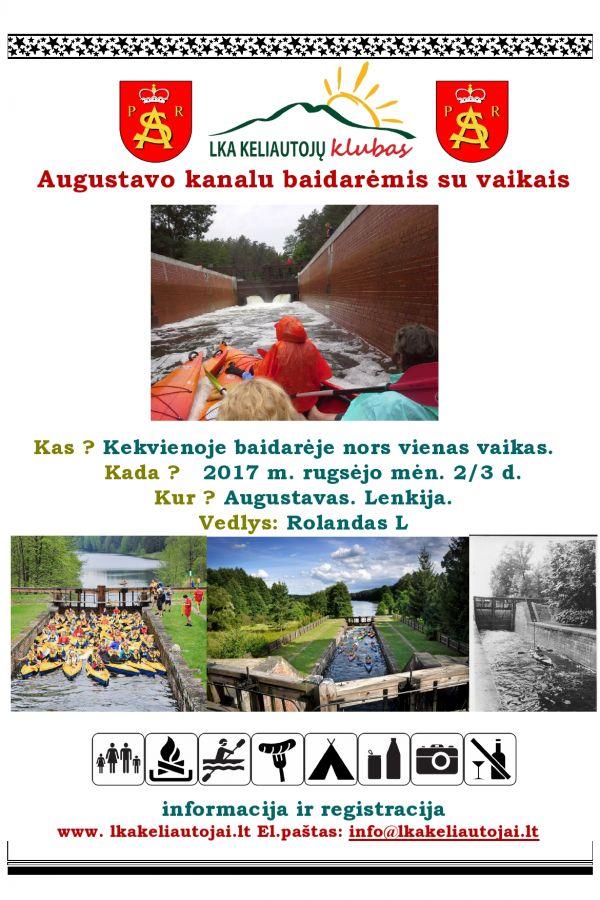 #Augustavo kanalu baidarėmis su vaikais