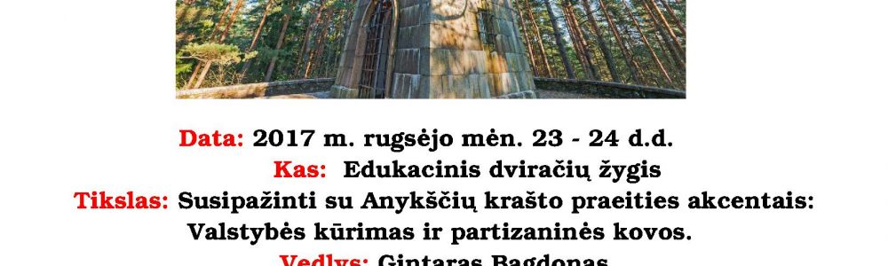 Anykščiai: nuo karaliaus Mindaugo iki partizanų kovų