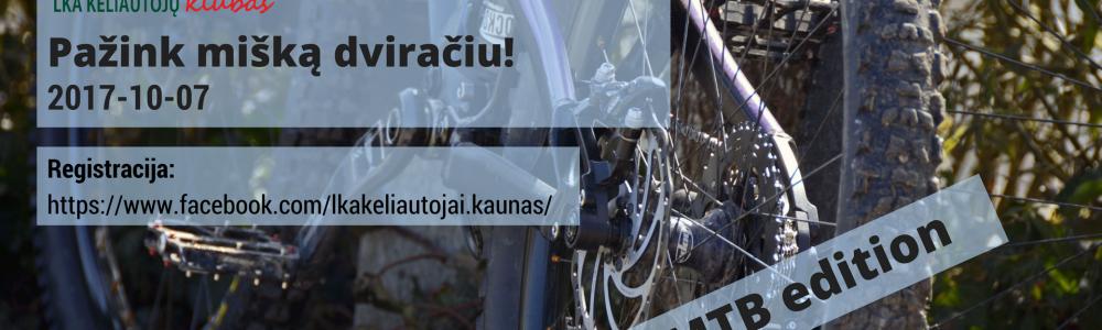 Pažink mišką dviračiais