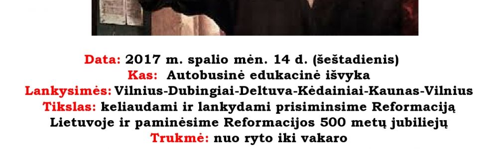 #Reformacijos takais Lietuvoje