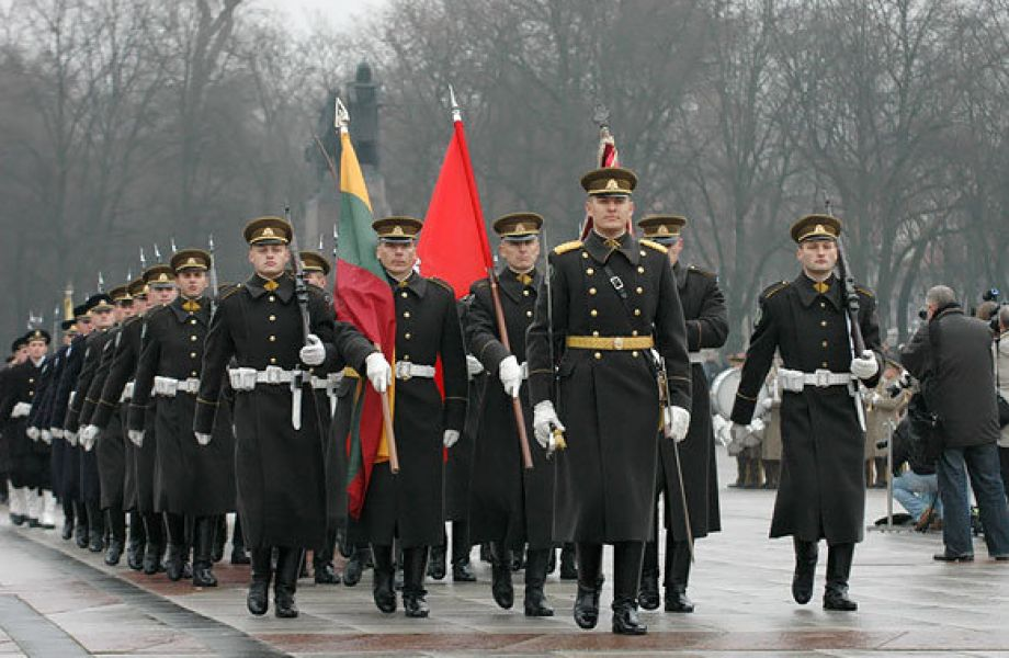 Dovana Lietuvos kariams