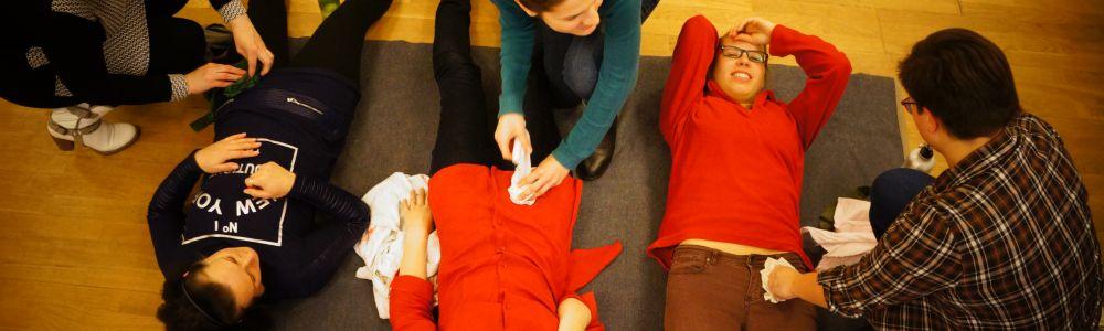 Foto reportažas: Pirmos medicininės pagalbos kursai