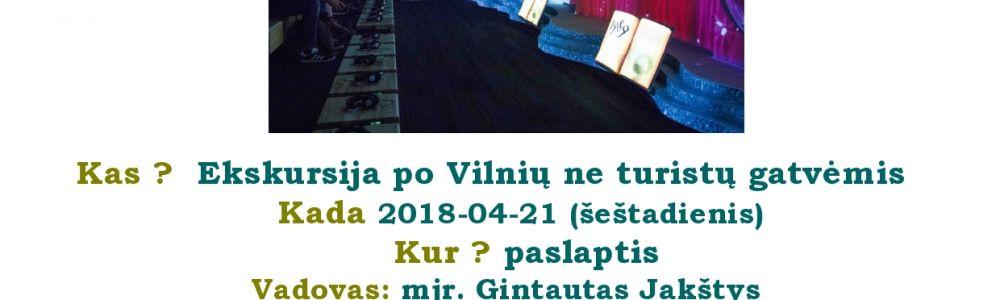 Vilnius: Eikime kur nevaikštome ir aplankykime Nemuzieju