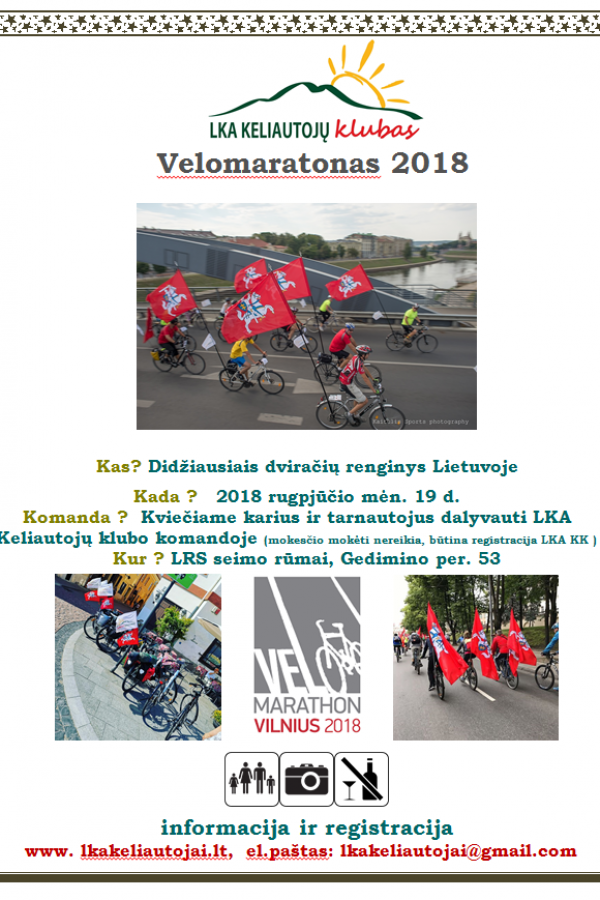 Velomaratonas 2018