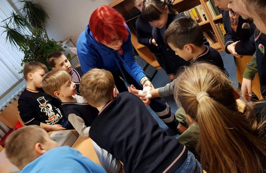 Pirmospagalbos suteikimo kursas vaikams