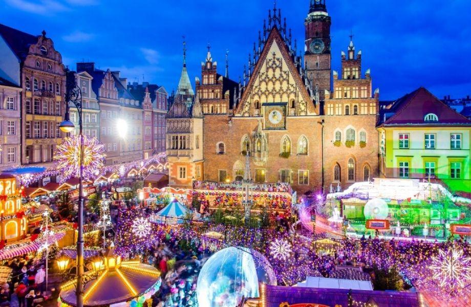 Atrask kalėdas Žemutinės Silezijos sostinėje - VROCLAVE!