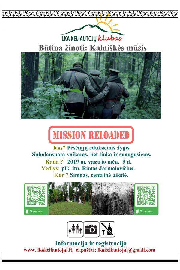 Kalniškės mūšis: Misija kartojame