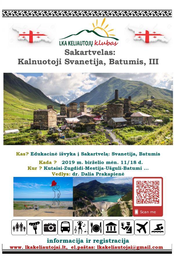 Sakartvelas:Kalnuotoji Svanetija, Batumis III
