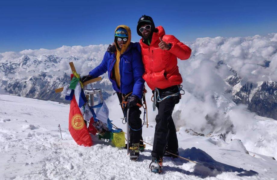 """Khan Tengri 7010m – šiauriausias """"septintukas"""" pasaulyje"""