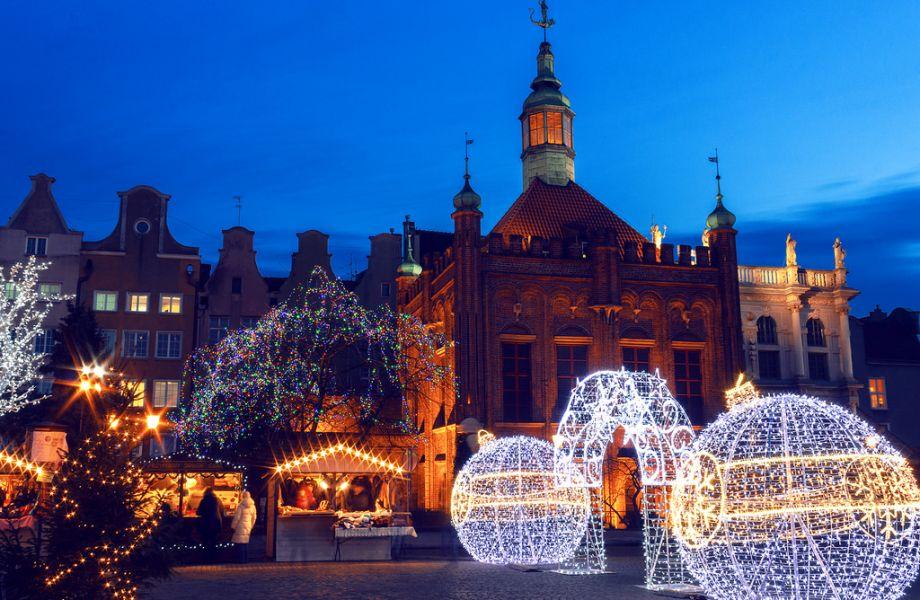 Šiaurės Lenkija: Kalėdų dvasia Gdanske