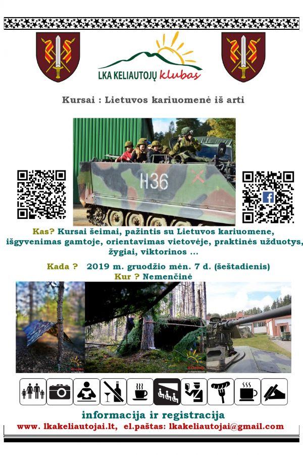 Kursai: Lietuvos kariuomenė iš arti